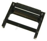 PCMCIA R/A 68P 1*1 BLACK 8MM