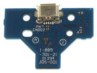 JDS-001 MICRO-USB-2.0-B-CONTRA + PRINT VOOR PS4 CONTROLLER